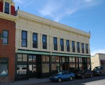 The Grier Block Provincial Historic Resource, Fort Macleod (February 2006); Alberta Culture and Community Spirit, Historic Resources Management Branch, 2006
