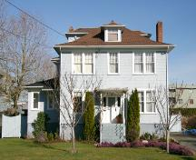 Exterior view of the Dr. Sinclair House; City of Surrey, 2004