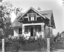 Exterior view of the Trethewey House, 1940; MSA Museum Society