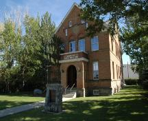 Fort Macleod Courthouse (Town Hall) Provincial Historic Resource (August 2005); Alberta Culture and Community Spirit, Historic Resources Management Branch, 2005