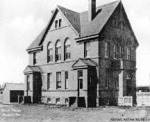 Fort Macleod Courthouse (Town Hall) Provincial Historic Resource (date unknown); Glenbow Archives, NA-5413-6