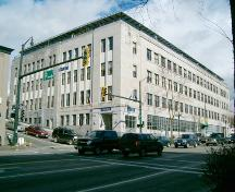 Exterior view of the Federal Building and Post Office, 2004; City of New Westminster, 2004