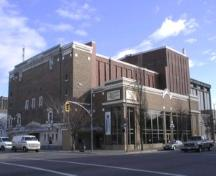 Exterior view of the Royal Theatre, 2004.; City of Victoria, Liberty Walton, 2004.
