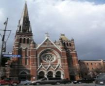 Exterior view of St. Andrew's Cathedral, 2004.; City of Victoria, Liberty Walton, 2004.