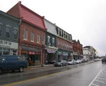 Looking south west along King Street; Municipality of Clarington