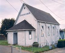 Exterior view, Gordon Head Community Hall, 2004.; District of Saanich, 2004.