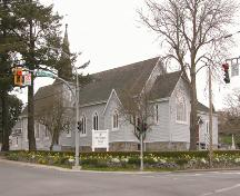 Exterior view of St. Luke's Anglican Church; Derek Trachsel, District of Saanich, 2004