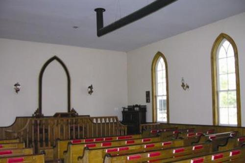 Interior of Mayne Corners  Church, ca. 2005