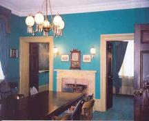 Interior of the Lord Mayor's chambers in the Niagara District Courthouse – 2002; OHT, 2002