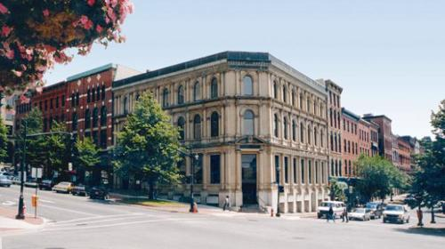 Contextual photo of Domville Building