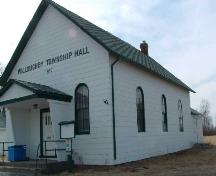 Willoughby Township Hall, located on Sodom Road in Niagara Falls.; City of Niagara Falls