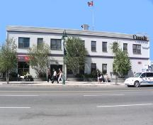 Yellowknife Post Office, 50th (Franklin) Ave.; A.Geggie/GNWT