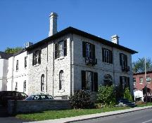 3/4 view of the Anglican Diocesan Centre at 90 Johnson Street, Kingston; RHI 2006