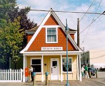 Exterior view of the Northern Bank, on Moncton Street in Steveston, 2001; Denise Cook Design 2001