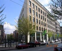 Exterior view of the McLennan and McFeely Building; City of Vancouver, 2007
