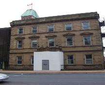Front elevation, Keith Hall, Halifax, NS, 2008.; Heritage Division, NS Dept. of Tourism, Culture and Heritage, 2008.