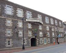 Front elevation, Keith Brewery, Halifax, NS, 2008; Heritage Division, NS Dept. of Tourism, Culture and Heritage, 2008.