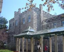 Featured is the jail with new addition.; Kayla Jonas, 2007.