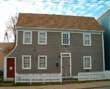 Quaker House, Dartmouth, front elevation, 2004; Heritage Division, NS Dept. Tourism, Culture and Heritage