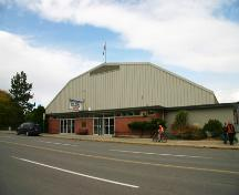 Exterior view of the Memorial Arena, 2007; City of Kamloops, 2007