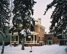 View of Bard House from 84 Avenue (Spring 2004); City of Edmonton, 2004