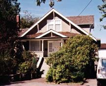 Exterior of Ida Steves House in Steveston, 2001; Denise Cook Design 2004