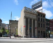 Vue d'ensemble - du sud-est de la banque de Toronto, Winnipeg, 2006; Historic Resources Branch, Manitoba Culture, Heritage, Tourism and Sport, 2006