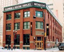 Metals Building Municipal Historic Resource (2004); City of Edmonton, 2004