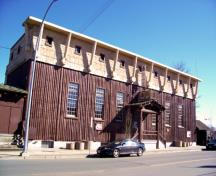 Front Façade of Native Sons Hall; City of Courtenay, 2009