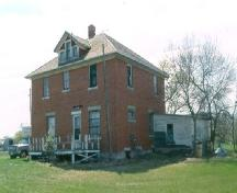 Front view of the Morine Farm Residence, 2004; Government of Saskatchewan, Frank Kovremaker 2001