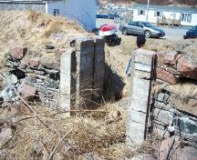 View of the entrance to Newman and Company Root Cellar, Harbour Breton, NL. Photo taken 2009. ; Doug Wells 2010