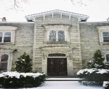 Front facade: centre; Betty Lou Clark