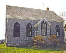 Front elevation of the Old Guysborough Court House Museum, Guysborough.; Heritage Division, NS Dept. of Tourism, Culture and Heritage, 1989.