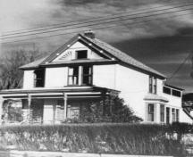 First Crowell House; Greater Vernon Museum and Archive photo #19771, no date
