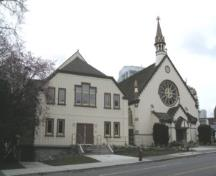Exterior view of the Church of Our Lord, 2004; City of Victoria, Liberty Walton, 2004.