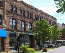 Showing north east elevation on Victoria Row; City of Charlottetown, Natalie Munn, 2005