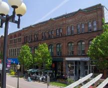 Showing north west elevation on Victoria Row; City of Charlottetown, Natalie Munn, 2005