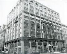 Blackburn Building Recognized Federal Heritage Building; (CIHB, Parks Canada, 1985.)