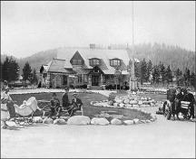 Historic general view.; Parks Canada