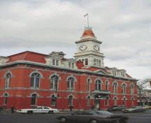 Exterior view of City Hall.; City of Victoria, Steve Barber, 2004.