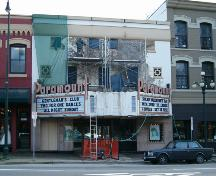 Exterior view of the Paramount Theatre; City of New Westminster, 2004
