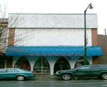 Exterior view of the Curtis-Armstrong Block, 2004; City of New Westminster, 2004