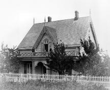Historic exterior view of Irving House, nd; New Westminster Museum and Archives, IHP-0369