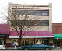 Exterior view of the Bryson Block, 2004; City of New Westminster, 2004