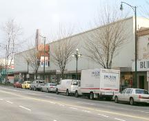Exterior view of the T. Eaton and Company Store; City of New Westminster, 2004