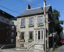 Barrington Street elevation and side elevation, Henry House, Halifax, Nova Scotia, 2005.; Heritage Division, NS Dept. of Tourism, Culture and Heritage, 2005