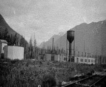 Grand Trunk Pacific Railway Roundhouse at Pacific; Regional District of Kitimat-Stikine, 2014