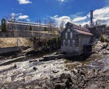 General view of the Mill 3 dating from 1912 at the Old Chicoutimi Pulp Mill; La Pulperie de Chicoutimi - Musée régional | La Pulperie de Chicoutimi - Regional Museum, 2015.