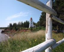 Vue générale du phare de Cape Bear, 2008.; Kraig Anderson - lighthousefriends.com