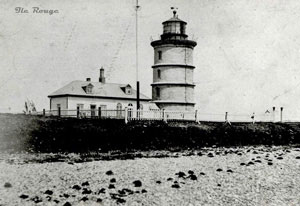 Ille Rouge Lighthouse / Phare de l'île Rouge (LAC/BAC 164480)